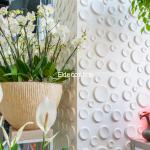 Ay Bambu 3D Duvar Paneli