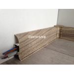 Eldeco Kablo Kanallı PVC Süpürgelik için İç Köşe Dönüş