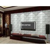 Hasır Bambu 3D Duvar Paneli