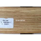 Kablo Kanallı PVC Süpürgelik Y.Meşe