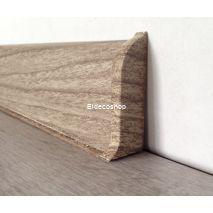 Kablo Kanallı PVC Süpürgelik için Sağ-Sol Kapak