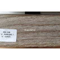 Kablo Kanallı PVC Süpürgelik H.Meşe