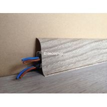 Kablo Kanallı PVC Süpürgelik