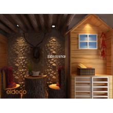 Damla Taş 3D Bambu Duvar Paneli