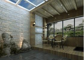 Eldeco Kesme Taş 3D Bambu Duvar Paneli
