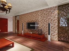 Eldeco Doğal Taş 3D Bambu Duvar Paneli