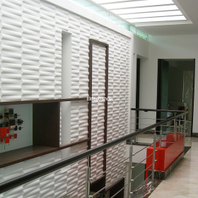 Village Bambu 3D Duvar Paneli