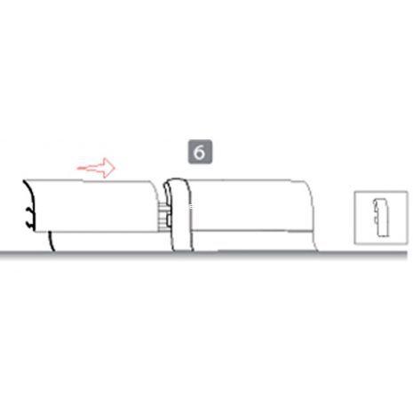 Eldeco Kablo Kanallı PVC Süpürgelik için Ara Bağlantı