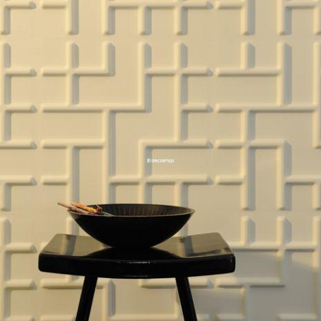 Tetris Bambu 3D Duvar Paneli
