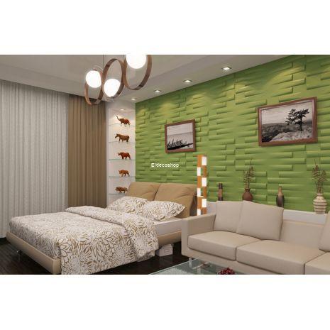 Forest Bambu 3D Duvar Paneli