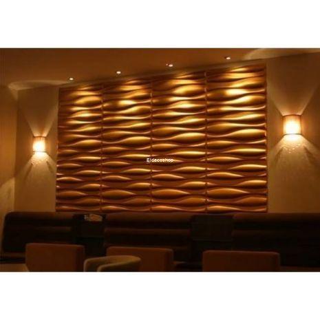 Eldeco Şile 3D Bambu Duvar Paneli