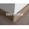 Eldeco Kablo Kanallı PVC Süpürgelik için Dış Köşe Dönüş